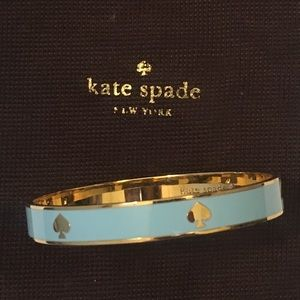 Authentic Kate Spade Blue and Gold Bangle